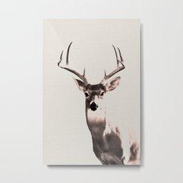 Deer Art 1 Metal Print