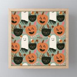 Happy Halloween!  Framed Mini Art Print