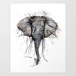 Elephantish Art Print