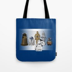 Star Wars Droid Lineup Tote Bag