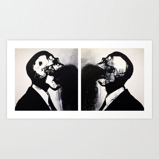 Dead men talking. 2007. Art Print
