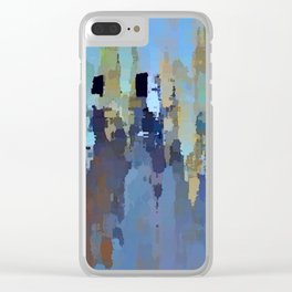 City in the Sky Clear iPhone Case