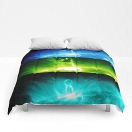 Solar Flare Rainbow Comforters