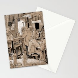 Three Bags Full Cafe Stationery Cards