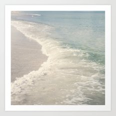 Turquoise Seas Art Print