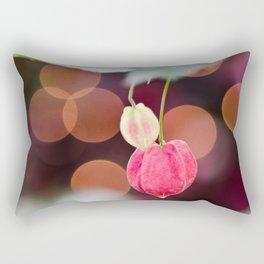 Festive Flowers Rectangular Pillow