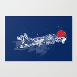 Olympic Swimmer  Canvas Print