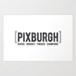 Defining Pixburgh Art Print