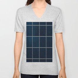 Solar Panel Pattern (Color) Unisex V-Neck