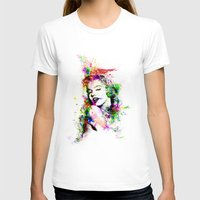 marylin monroe T-shirts featuring Monroe. by David