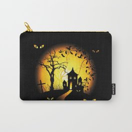 Halloween Castle Nightmare Carry-All Pouch