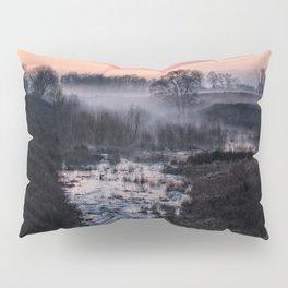 Foggy Sunrise At Chasewater Pillow Sham