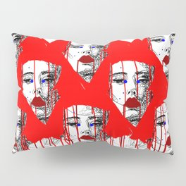 Red people Pillow Sham