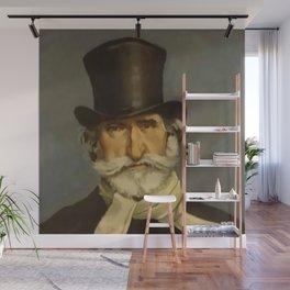 Giovanni Boldini- portrait of Verdi Wall Mural