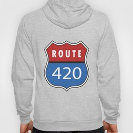 Route 420 Interstate Sign Hoody