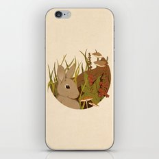 Foxglove iPhone & iPod Skin