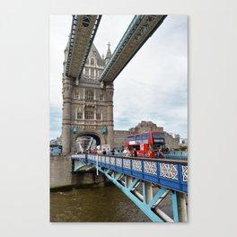 Busy Tower Bridge Canvas Print