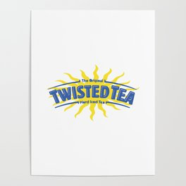 Twisted Tea Drink Poster