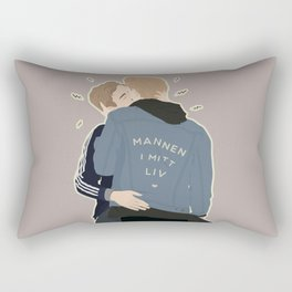MANNEN I MITT LIV Rectangular Pillow