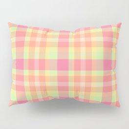 Summer Plaid 6 Pillow Sham