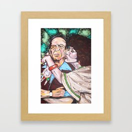 Mr. & Mrs. Roper Framed Art Print