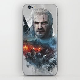 The Witcher iPhone Skin