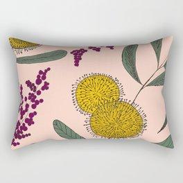 Floating Garden Rectangular Pillow