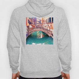 Small Bridge in Venice Hoody