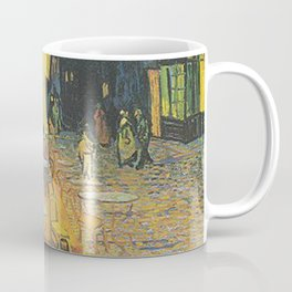 Van Gogh -  The Cafe Terrace on the Place du Forum, Arles, at Night Coffee Mug