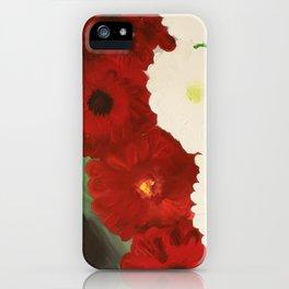 Sleeping In The Garden iPhone Case
