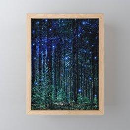 Magical Woodland Framed Mini Art Print