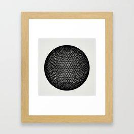 Sphere 1 Framed Art Print