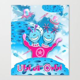 Ubi et Orbi Poster 2 Canvas Print