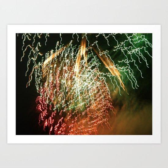 firelight Art Print