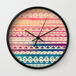 SURF TRIBAL II Wall Clock