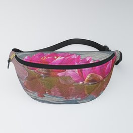Pink Water Lillies Fanny Pack
