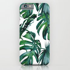 Tropical Palm Leaves Classic Slim Case iPhone 6s