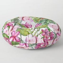 Tropical Garden 3 Floor Pillow