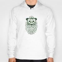 hedgehog Hoodies featuring hedgehog by barmalisiRTB