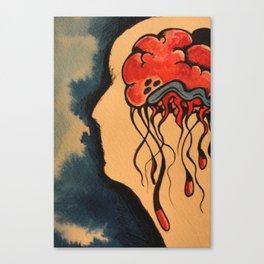 Jelly Brain Canvas Print
