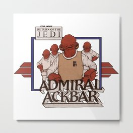 Admiral Ackbar Metal Print