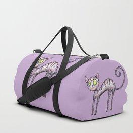 Funny cat Duffle Bag
