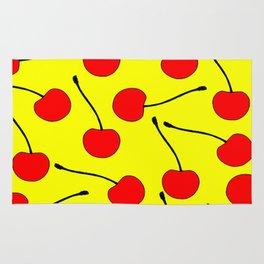 One Lonley Cherry  Rug