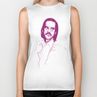 nick cave Biker Tanks featuring Nick Cave by 1and9