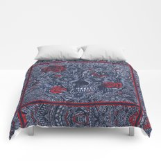 Sensory Overload Americana  Comforters