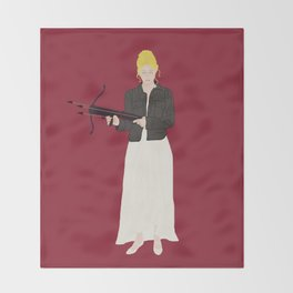 Prophecy Girl Throw Blanket