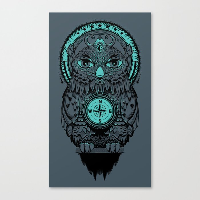 Guardian of the Lost Canvas Print