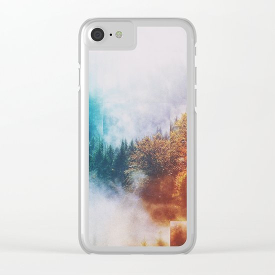 Fractions A63 Clear iPhone Case