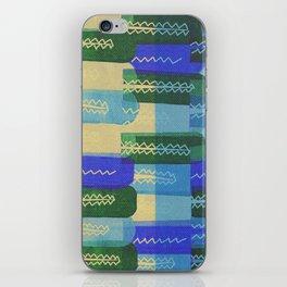 Crocodiles Rush iPhone Skin