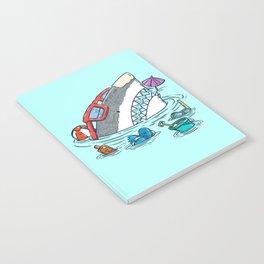 Beach Party Shark Notebook